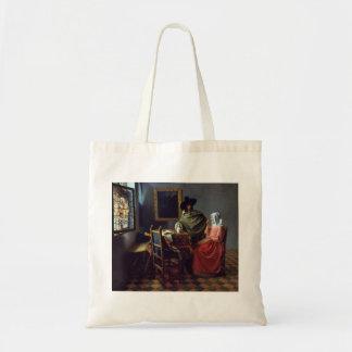 The Wine Glass, Jan Vermeer Canvas Bag