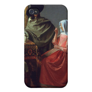 The Wine Glass, Jan Vermeer Cover For iPhone 4