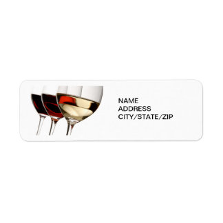 THE WINE LOVER'S ADDRESS LABELS