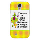 """The Wine Prince """"Fine Wine Between Frog & Prince"""" Samsung Galaxy S4 Cover"""