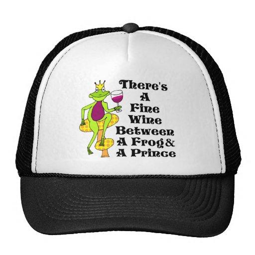 "The Wine Prince ""Fine Wine Between Frog & Prince"" Trucker Hat"
