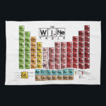 "The Wine Table Kitchen Towel<br><div class=""desc"">The Wine Table Kitchen Table is a must for any wine lover. The Wine Table is fun and functional decor for your home that can help you explore the world of wine. The Wine Table Poster features 84 wines in bright, bold colors. From Chardonnay to Cabarnet Sauvignon and Albarino to...</div>"