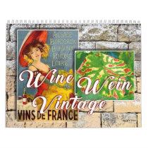 The Wine Wall Calendar - Wine Wein Vintage