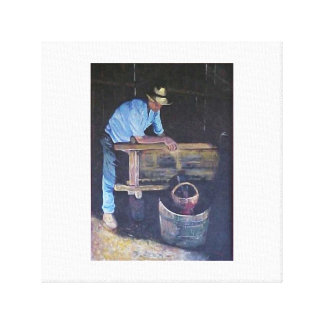 The Winemaker Canvas Print