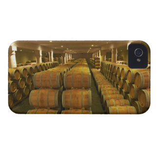 The winery, barrel aging cellar - Chateau Baron iPhone 4 Case-Mate Case