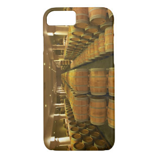 The winery, barrel aging cellar - Chateau Baron iPhone 7 Case