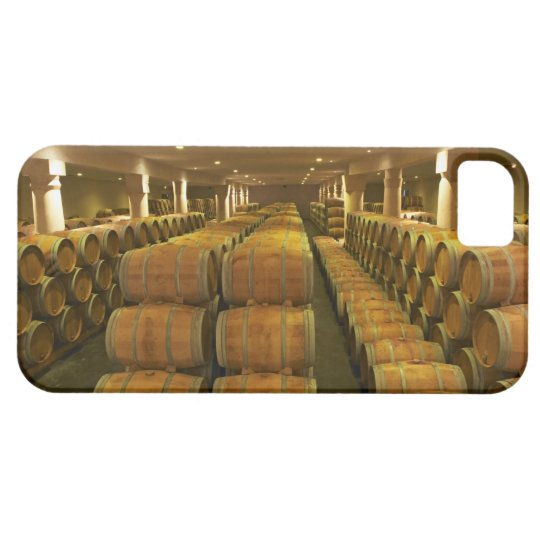 The winery, barrel aging cellar - Chateau Baron iPhone SE/5/5s Case