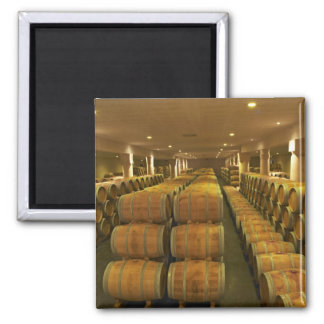 The winery, barrel aging cellar - Chateau Baron Magnet