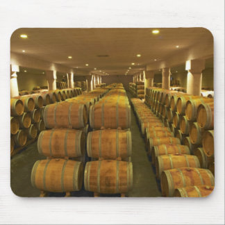 The winery, barrel aging cellar - Chateau Baron Mouse Pad