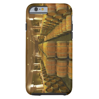 The winery, barrel aging cellar - Chateau Baron Tough iPhone 6 Case