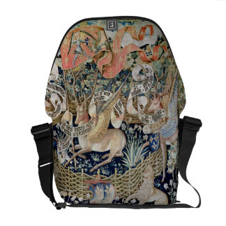 The Winged Deer (tapestry) Messenger Bag