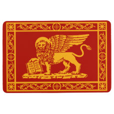 The Winged Lion of Saint Mark Floor Mat