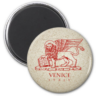 The Winged Lion of Saint Mark Magnet
