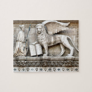 The Winged Lion of Venice, Italy Puzzle