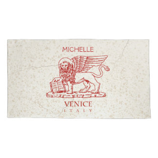 The Winged Lion of Venice Pillow Case
