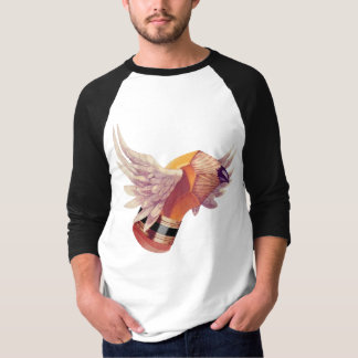 The Winged Stubbie Tee Shirt