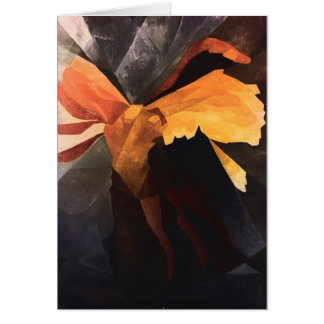 The Winged Victory of Samothrace Card
