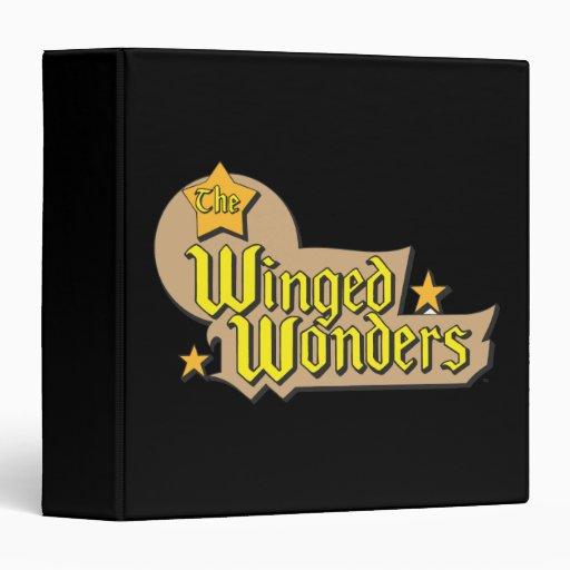 The Winged Wonders Logo 3 Ring Binder