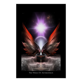 The Wings Of Anthropolis HC Perfect Poster