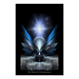The Wings Of Anthropolis Perfect Poster