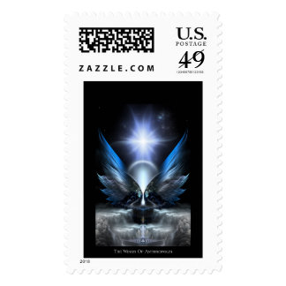 The Wings Of Anthropolis Postage Stamp