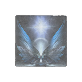 The Wings Of Anthropolis Stone Magnet