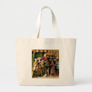 The Wings of the Wurzach Altar by Hans Multscher Large Tote Bag