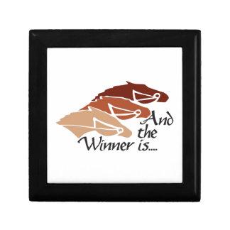 The Winner Is Jewelry Box