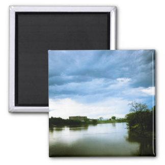 The Winnipeg Red River Lomo Styled Magnet