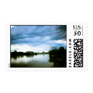 The Winnipeg Red River Lomo Styled Postage