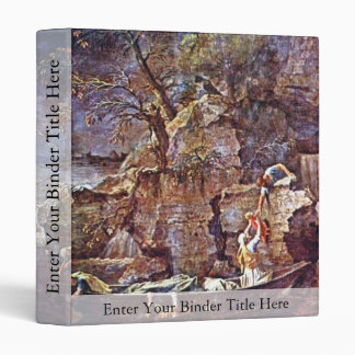 """The Winter """" By Poussin Nicolas (Best Quality) 3 Ring Binders"""