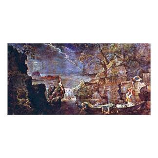 """The Winter """" By Poussin Nicolas (Best Quality) Picture Card"""
