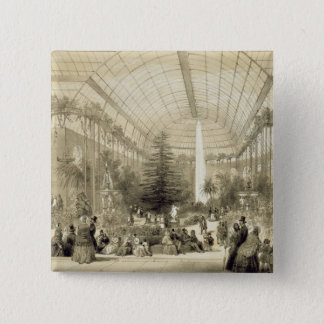 The Winter Garden, published by Auguste Bry (litho Pinback Button