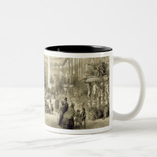 The Winter Garden, published by Auguste Bry (litho Two-Tone Coffee Mug