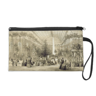The Winter Garden, published by Auguste Bry (litho Wristlet Purse