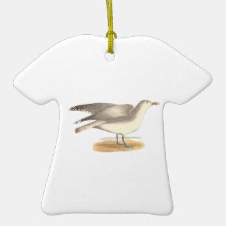 The Winter Gull(Larus argentatus) Christmas Ornament