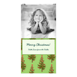 The Winter: Oh, Christmas Tree Pattern Photocard Card