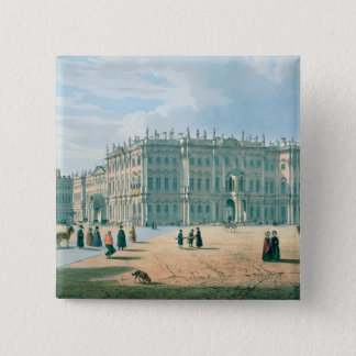The Winter Palace as seen from Palace Passage Pinback Button