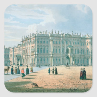 The Winter Palace as seen from Palace Passage Stickers