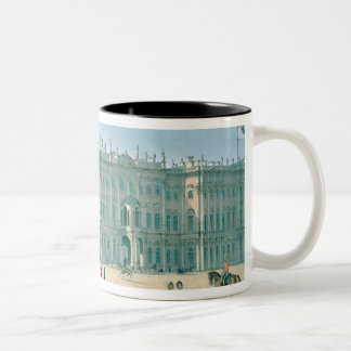 The Winter Palace as seen from Palace Passage Two-Tone Coffee Mug