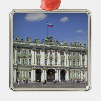 The Winter Palace, St Petersburg, Russia (RF) Metal Ornament