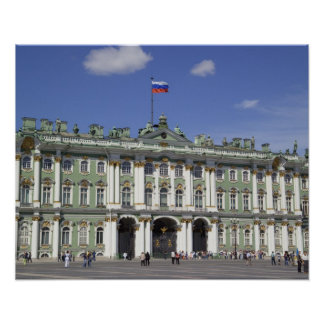 The Winter Palace, St Petersburg, Russia (RF) Poster