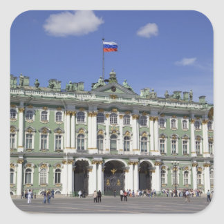 The Winter Palace, St Petersburg, Russia (RF) Square Sticker