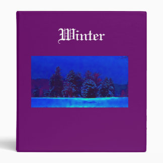 The Winter photos binder