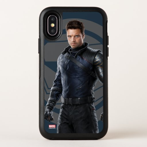 The Winter Soldier Character Art OtterBox Symmetry iPhone X Case