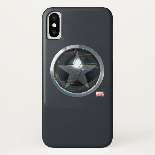 The Winter Soldier Icon Badge iPhone X Case