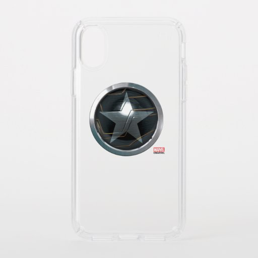 The Winter Soldier Icon Badge Speck iPhone X Case