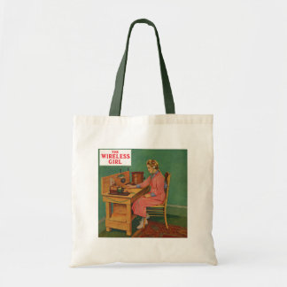 The Wireless Girl Tote Bag