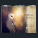 "The Wisdom of Animals 2018 Art Calendar<br><div class=""desc"">Get inspired throughout the year with gorgeous animal photography combined with inspirational words. Each month is a unique artwork created by by Margaret Goodwin.</div>"