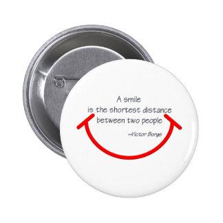 The wisdom of Victor Borge 2 Inch Round Button